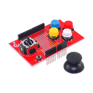PS2 JOYSTICK SHIELD V2.0摇杆扩展板 for arduino